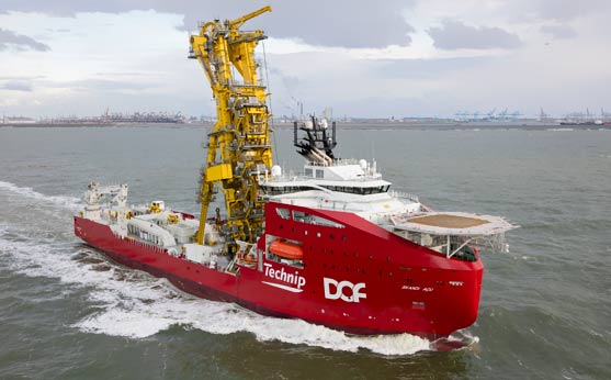 Skandi Açu fitted with ShoreConnection HAV