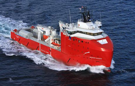 Skandi Hugen fitted with SCI DMM